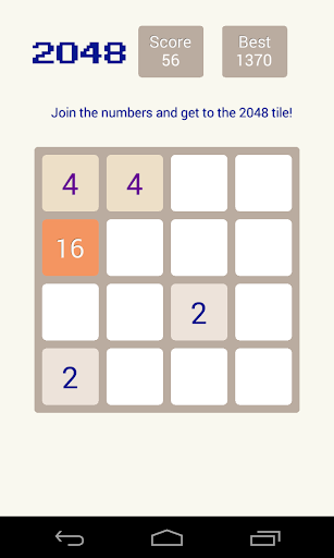 2048 Game - Power of Two
