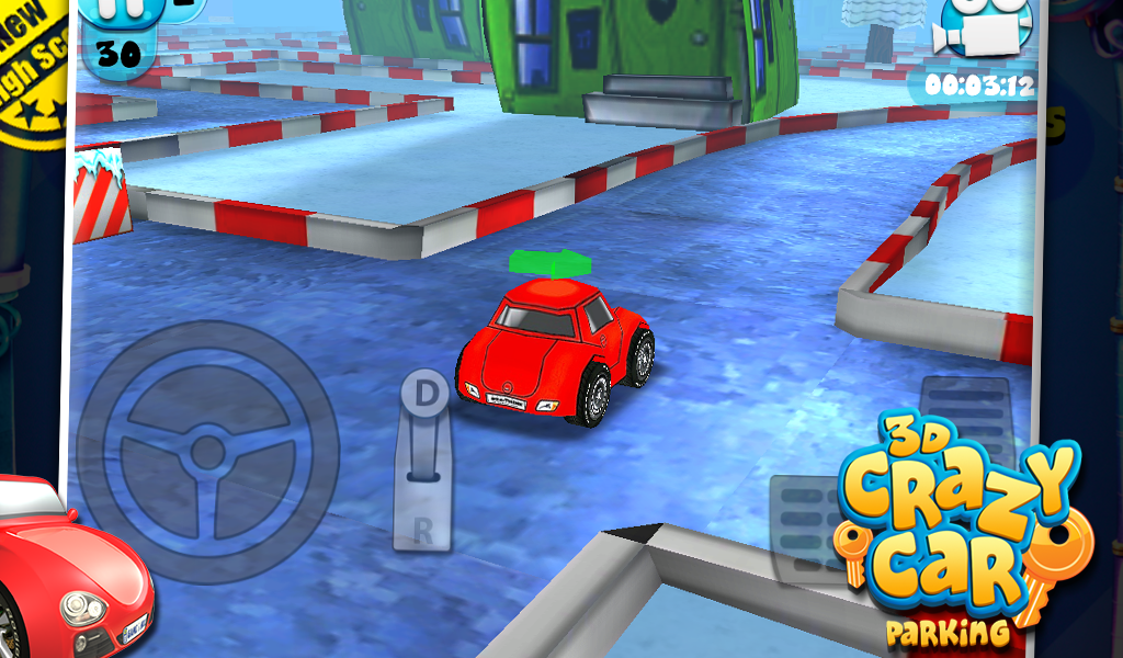 3D Crazy Car Parking- screenshot