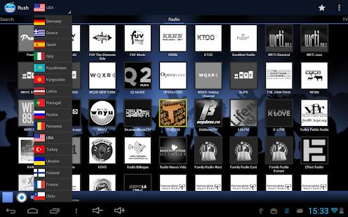RUSH online radio and TV Screenshot 7