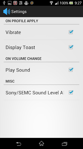 Volume Profile for tasker