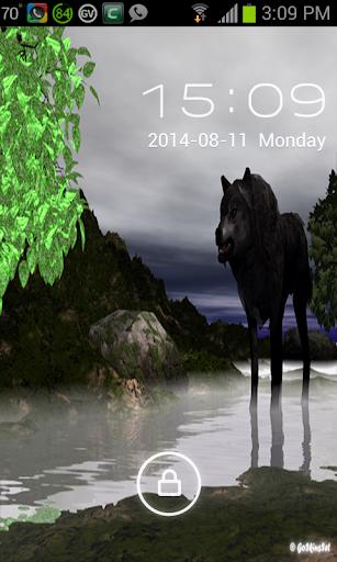 【免費個人化App】Wolf Go Locker Theme-APP點子