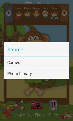 Kiko Photo - camera for kids screenshot