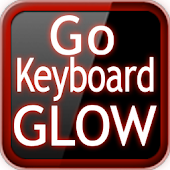 GO Keyboard Red Glow EX