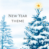 New Year Go Launcher EX Theme