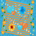 Orange & Blue Summer GO THEME