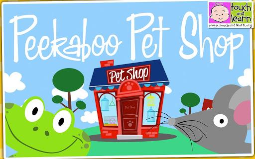 Peekaboo Pet Shop - Kids Pets