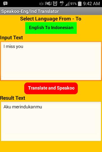 Indonesian - English Speakoo