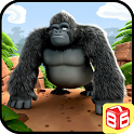 Gorilla Run - Jungle Game icon
