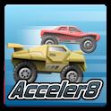 Acceler8 logo
