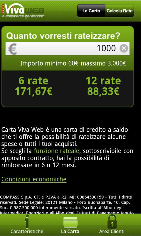 Carta Viva Web - screenshot