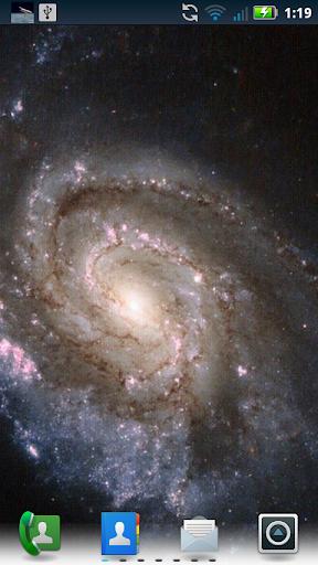 Hubble Images Live Wallpaper