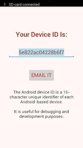查找你的Android設備ID