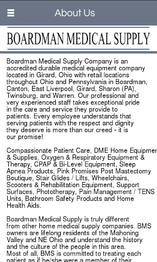 Boardman Medical Supply Co