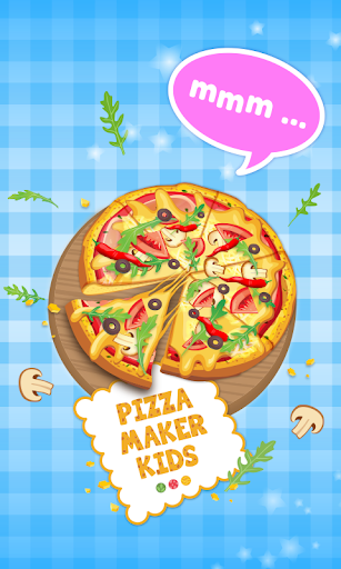 Pizza Maker Kids -Cooking Game