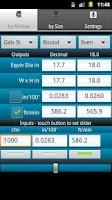 Screenshot of HVAC Buddy® Duct Calc