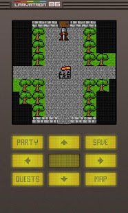 Gurk II, the 8-bit RPG - screenshot thumbnail