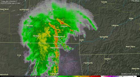 PYKL3 Radar (USA NEXRAD/TDWR) Screenshot 9