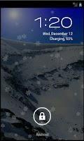 Screenshot of SnowFall HD Live Wallpaper