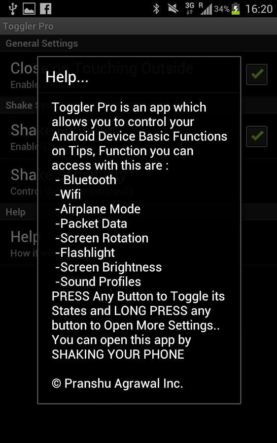 Toggler Pro - screenshot