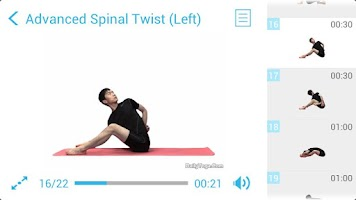 Screenshot of Daily Yoga for Back