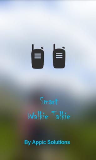Smart Walkie Talkie Free
