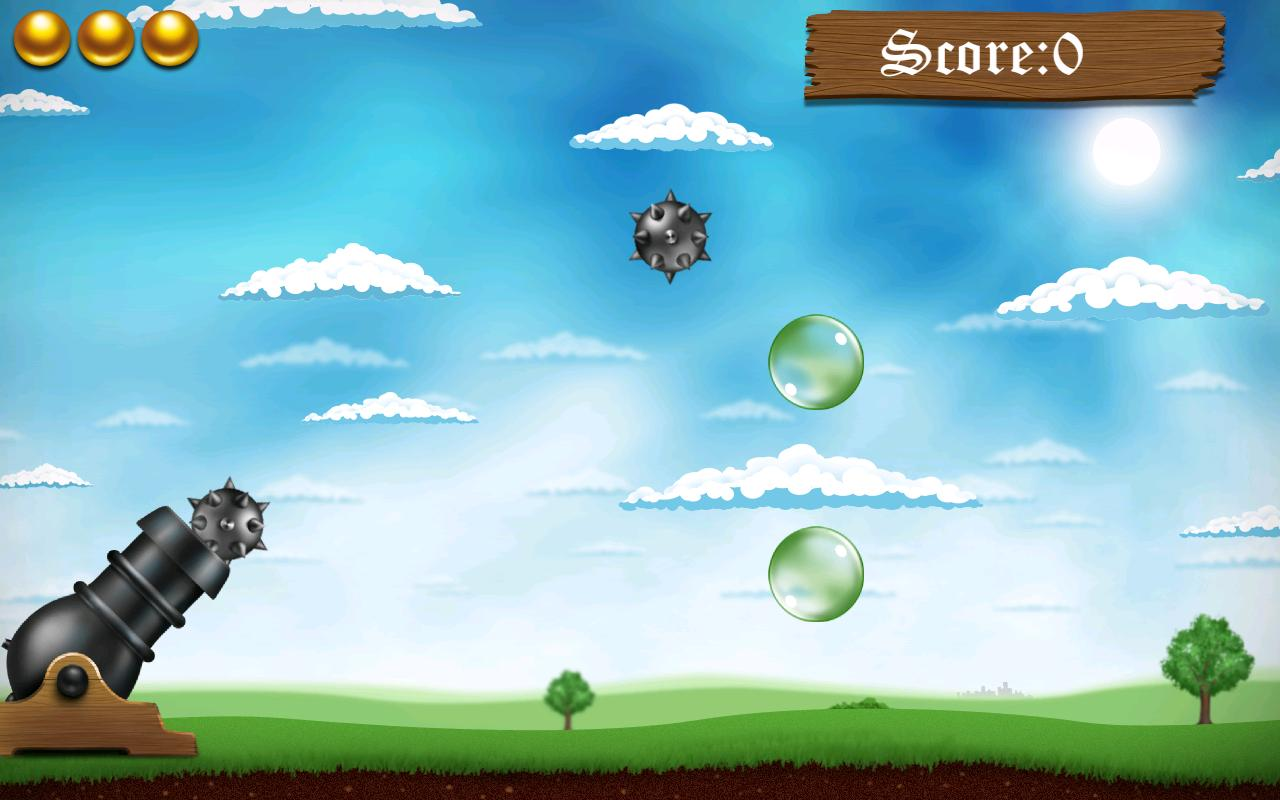 Slice the Bombs - GALAXY NOTE - screenshot