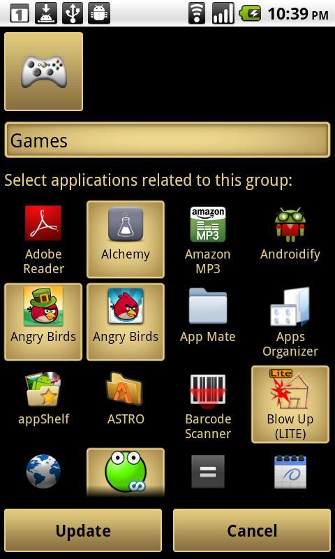 App Shelf- screenshot