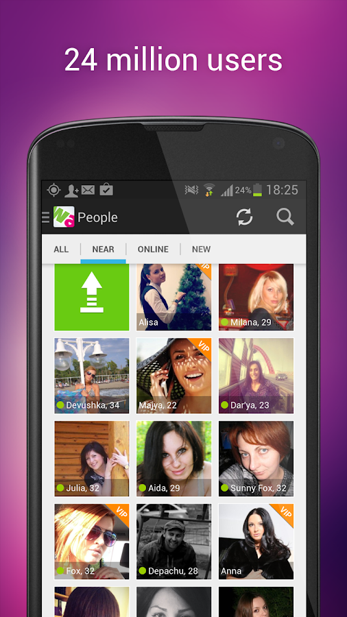 Wamba - meet women and men - screenshot