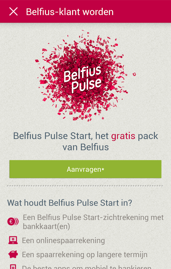 New Belfius Direct Mobile - screenshot
