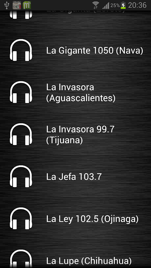 Live Radio Mexico - screenshot