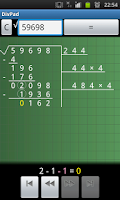 Screenshot of DivPad - Step by Step Math