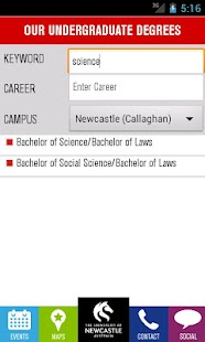 University of Newcastle (UoN) - screenshot thumbnail