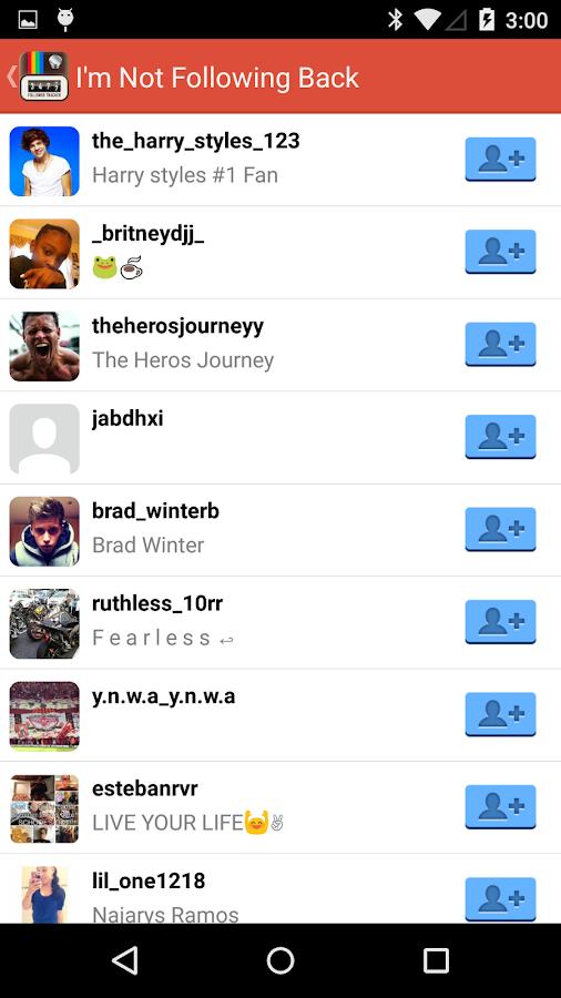 Follower Tracker for Instagram - screenshot