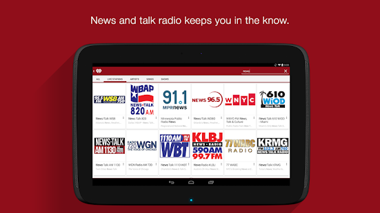 iHeartRadio Free Music & Radio Screenshot 29