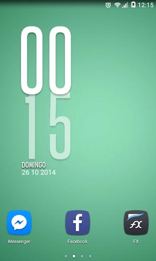 Vertical Clock - UCCW