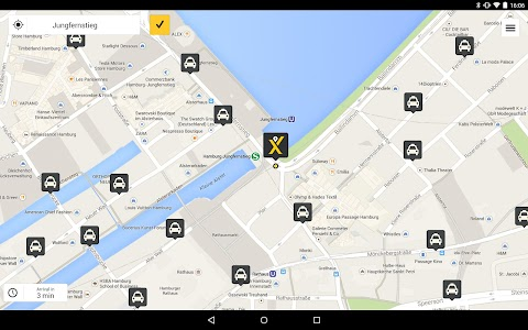 mytaxi – The Taxi App screenshot 5