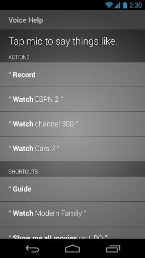 XFINITY TV X1 Remote