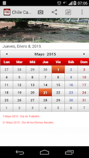 Chile Calendario 2015 - screenshot thumbnail