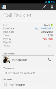 Business Tasks- screenshot thumbnail