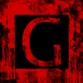Red Grunge HD APEX GO NOVA ADW