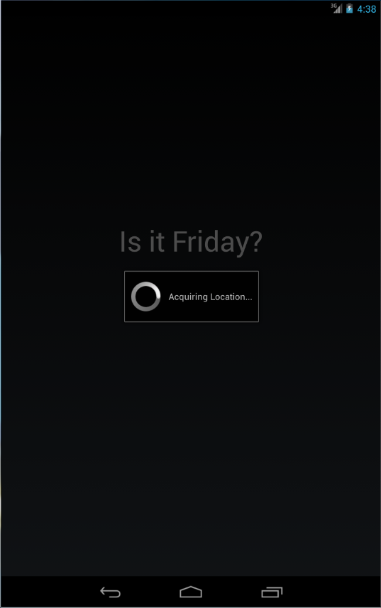 Is It Friday?- screenshot