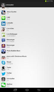 Easy UnInstall apps
