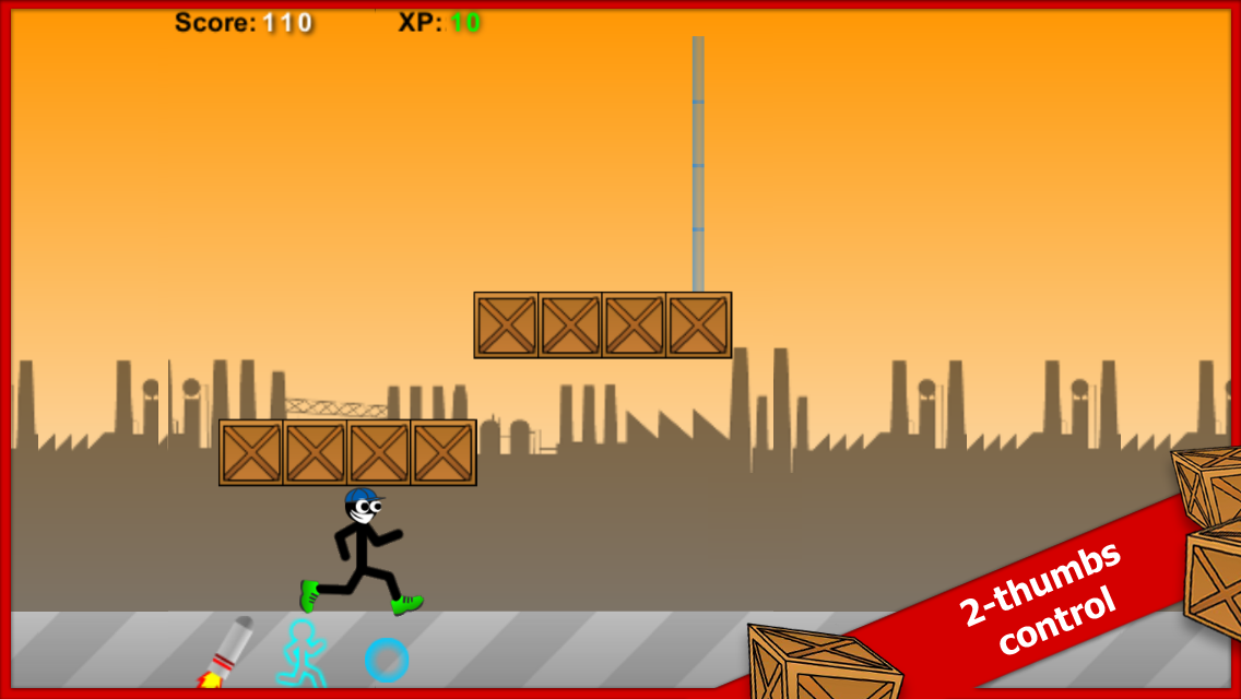 Stick Run Mobile Deluxe- screenshot