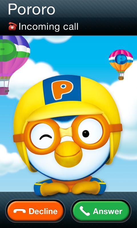Talking Pororo (English)- screenshot