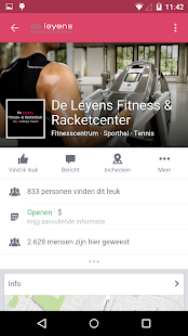 De Leyens fitness & racketclub- screenshot thumbnail