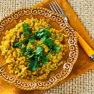 Curried Rice and Red Lentils.