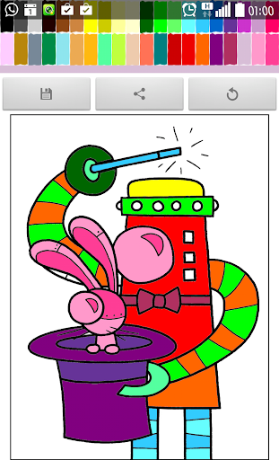 Coloring : Robot