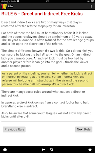 Simple Soccer Rules (Ad free) - screenshot thumbnail