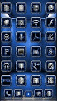 Screenshot of Chromed Lightning Multi Blue