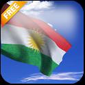 3D Kurdistan Flag LWP icon